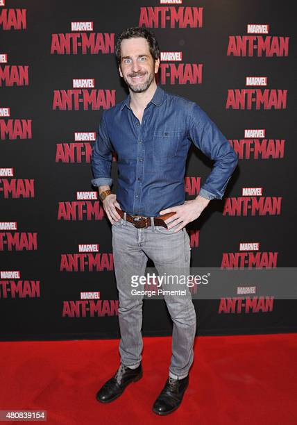 Actor Aaron Abrams attend Marvel's 'AntMan' Toronto Premiere at Cineplex Odeon Varsity and VIP Cinemas on July 15 2015 in Toronto Canada