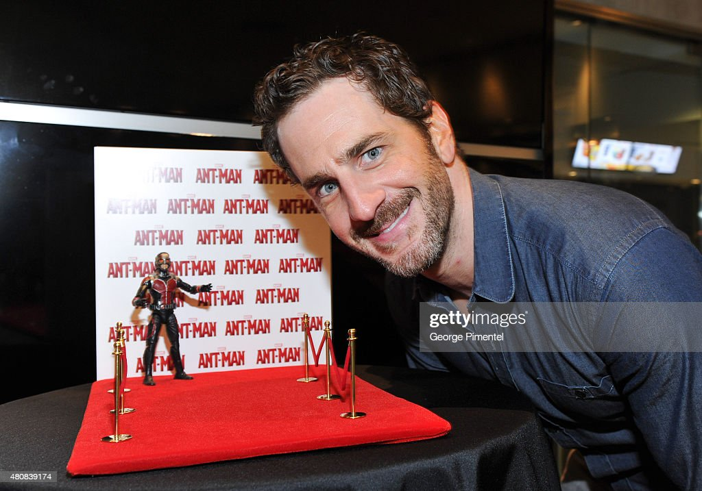 Actor Aaron Abrams attend Marvel's 'Ant-Man' Toronto Premiere at Cineplex Odeon Varsity and VIP Cinemas on July 15, 2015 in Toronto, Canada.