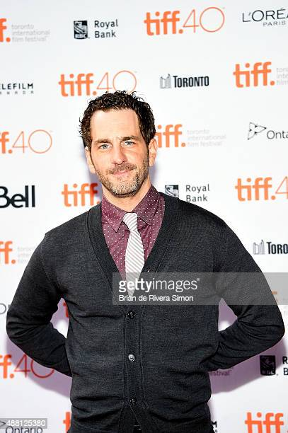 Actor Aaron Abrams attends 'Closet Monster' photo call during the 2015 Toronto International Film Festival at Ryerson Theatre on September 13 2015 in...