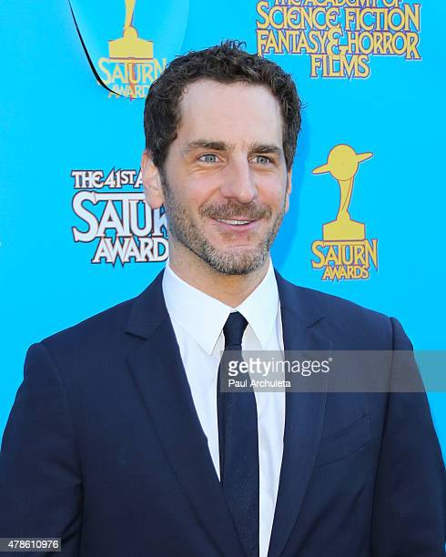 Actor Aaron Abrams attends the 41st annual Saturn Awards at The Castaway on June 25 2015 in Burbank California