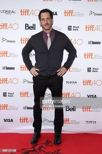 Actor Aaron Abrams attends the 'Closet Monster' photo call during the 2015 Toronto International Film Festival at Ryerson Theatre on September 13...