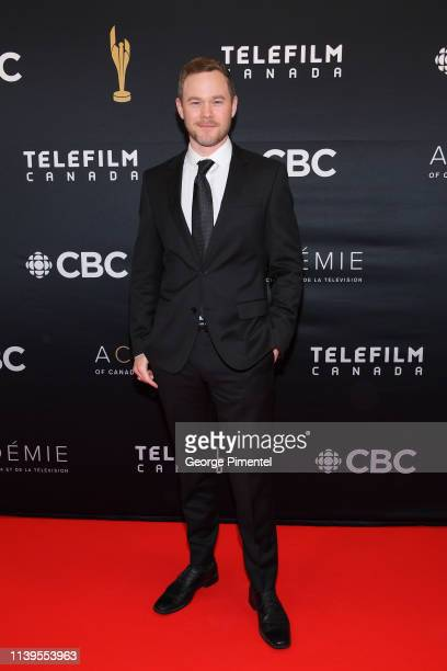 Actor Aaron Ashmore attends the 2019 Canadian Screen Awards Broadcast Gala at Sony Centre for the Performing Arts on March 31 2019 in Toronto Canada