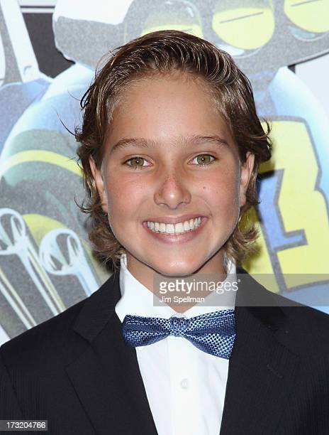 """Actor Aaron Berger attends the """"Turbo"""" New York Premiere at AMC Loews Lincoln Square on July 9, 2013 in New York City."""