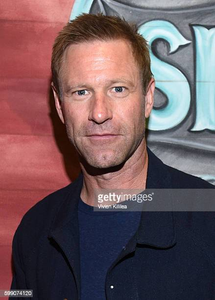 Actor Aaron Eckhart attends a screening of 'Sully' at the Telluride Film Festival 2016 on September 3 2016 in Telluride Colorado