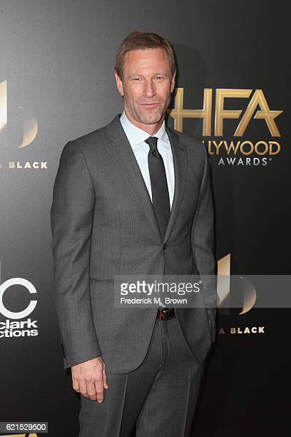 Actor Aaron Eckhart attends the 20th Annual Hollywood Film Awards on November 6 2016 in Beverly Hills California