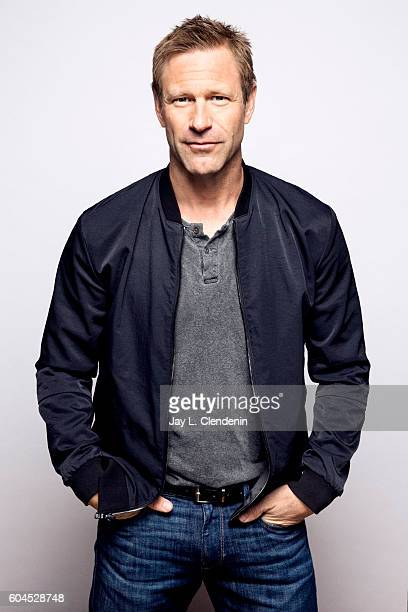 Actor Aaron Eckhart of 'Bleed For This' poses for a portraits at the Toronto International Film Festival for Los Angeles Times on September 12 2016...