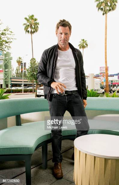 Actor Aaron Eckhart photographed for New York Observer on June 15 in Los Angeles California