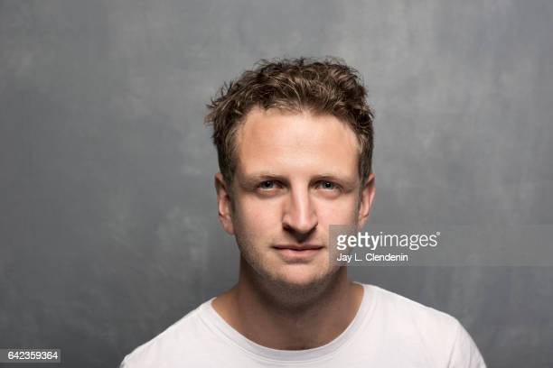 Actor Aaron Glenna from the film 'Killing Ground' is photographed at the 2017 Sundance Film Festival for Los Angeles Times on January 20 2017 in Park...