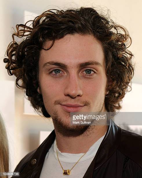 Actor Aaron Johnson aattends the opening VIP reception for 'This Boy John Lennon In Liverpool' photo exhibit held at Mr Music Head Gallery on October...