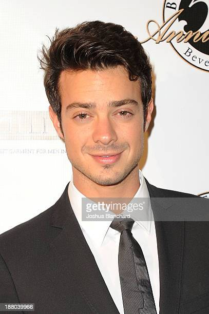 Actor Aaron Lee arrives at Battaglia's 50th Anniversary of Quality and Elegance Celebration on November 14, 2013 in Beverly Hills, California.