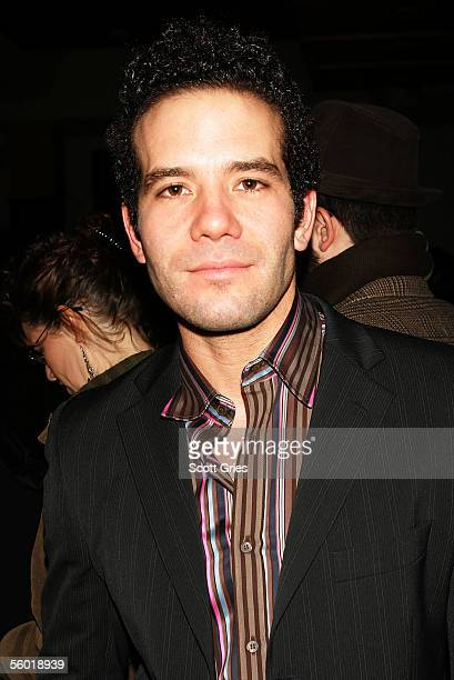 Actor Aaron Lohr attends the afterparty for 'See What I Wanna See' the first production in The Public Theaters 200506 downtown season at Mannahatta...