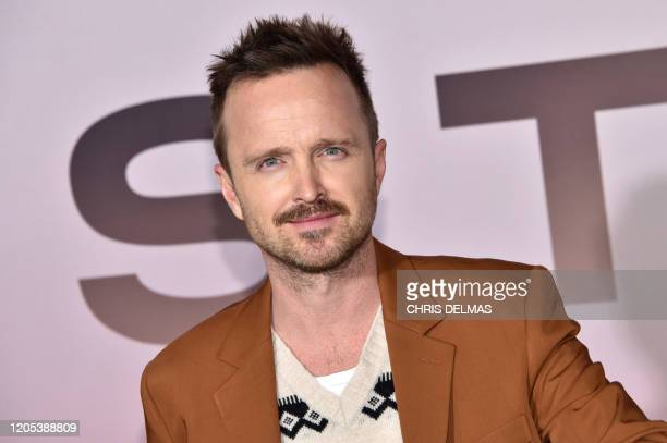 "Actor Aaron Paul arrives for the Los Angeles season three premiere of the HBO series ""Westworld"" at the TCL Chinese theatre in Hollywood on March 5,..."