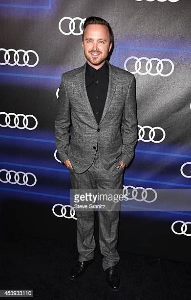 Actor Aaron Paul attends Audi Emmy Week Celebration at Cecconi's Restaurant on August 21 2014 in Los Angeles California
