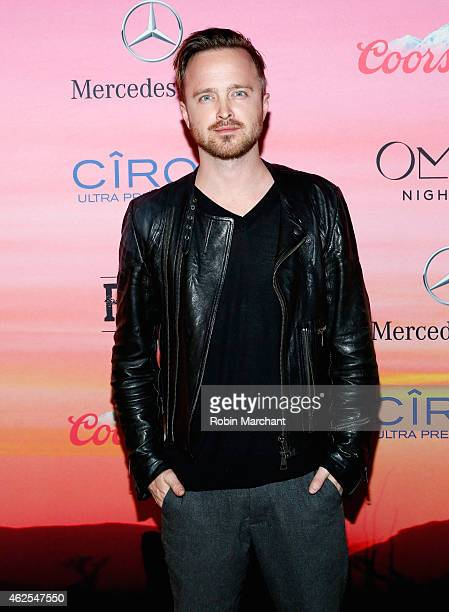 Actor Aaron Paul attends ESPN the Party at WestWorld of Scottsdale on January 30, 2015 in Scottsdale, Arizona.