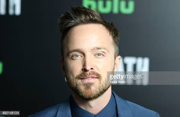 Actor Aaron Paul attends Premiere of Hulu's 'The Path' Season 2 at Sundance Sunset Cinema on January 19 2017 in Los Angeles California