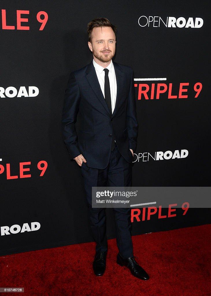 "Premiere Of Open Road's ""Triple 9"" - Arrivals"