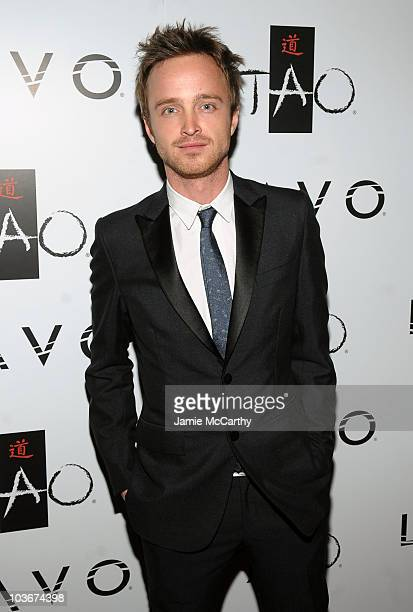 Actor Aaron Paul attends the TAO and LAVO anniversary weekend held at TAO in the Venetian Resort Hotel Casino on October 3 2009 in Las Vegas Nevada