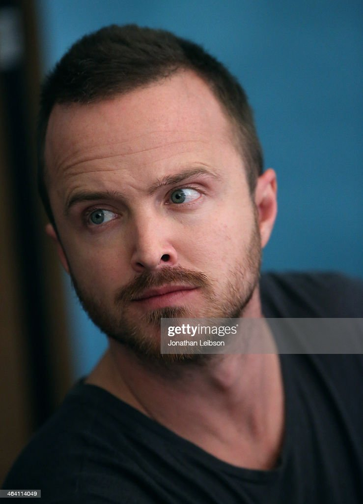 Actor Aaron Paul attends The Variety Studio: Sundance Edition Presented By Dawn Levy on January 20, 2014 in Park City, Utah.