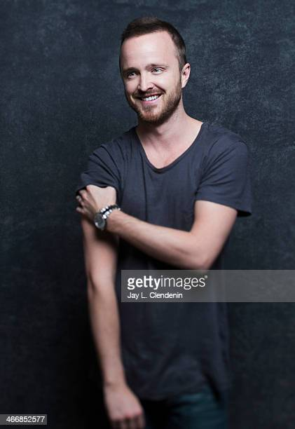 Actor Aaron Paul is photographed for Los Angeles Times on January 18 2014 in Park City Utah PUBLISHED IMAGE CREDIT MUST READ Jay L Clendenin/Los...