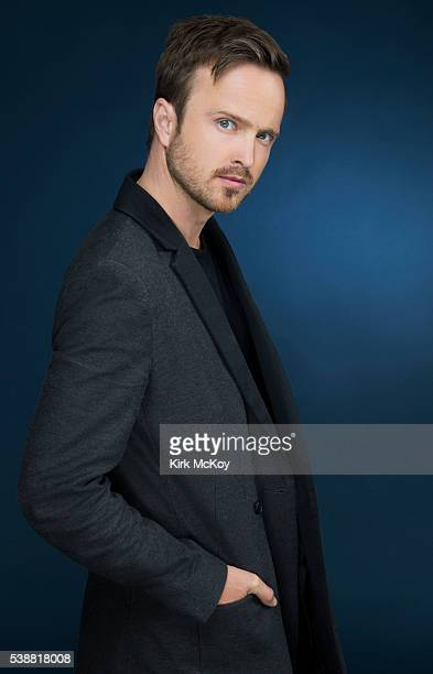 Actor Aaron Paul is photographed for Los Angeles Times on June 1 2016 in Los Angeles California PUBLISHED IMAGE CREDIT MUST READ Kirk McKoy/Los...