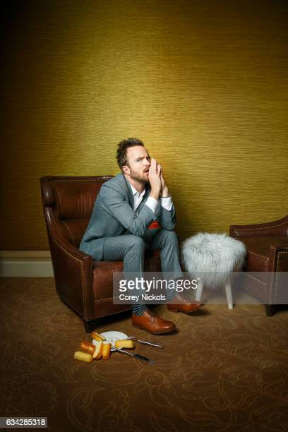 Actor Aaron Paul is photographed for New York Observer on January 7, 2017 in Pasadena, California.