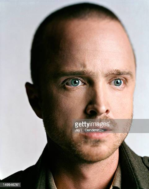 Actor Aaron Paul is photographed for the Los Angeles Times on May 1 2012 in Hollywood California PUBLISHED IMAGE
