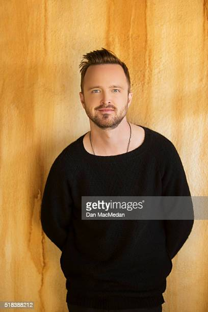 Actor Aaron Paul is photographed for USA Today on March 18 2016 in Los Angeles California
