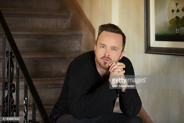 Actor Aaron Paul is photographed for USA Today on March 18 2016 in Los Angeles California PUBLISHED IMAGE