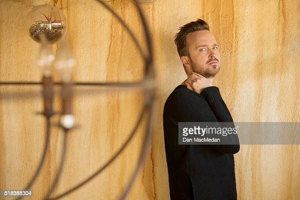 Actor Aaron Paul is photographed for USA Today on March 18, 2016 in Los Angeles, California. PUBLISHED IMAGE.