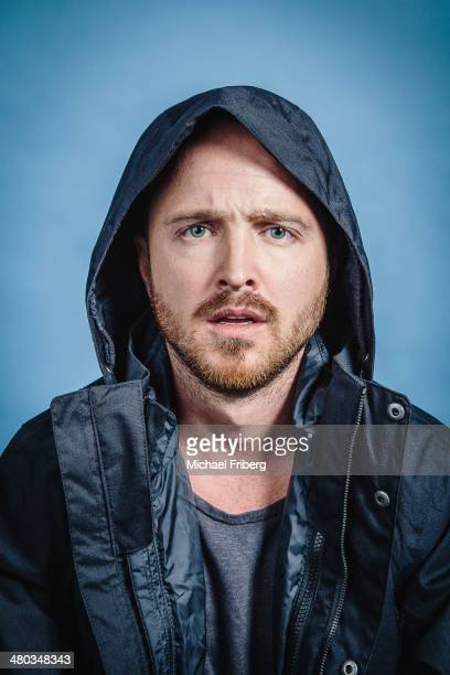 Actor Aaron Paul is photographed for Variety on January 18 2014 in Park City Utah