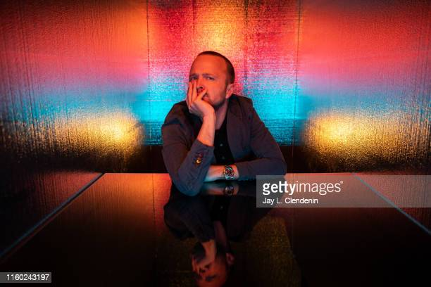 Actor Aaron Paul of 'Westworld' is photographed for Los Angeles Times at Comic-Con International on July 20, 2019 in San Diego, California. PUBLISHED...