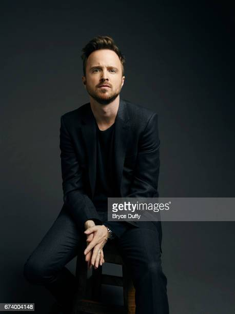 Actor Aaron Paul photographed for Variety on April 10 in Los Angeles California