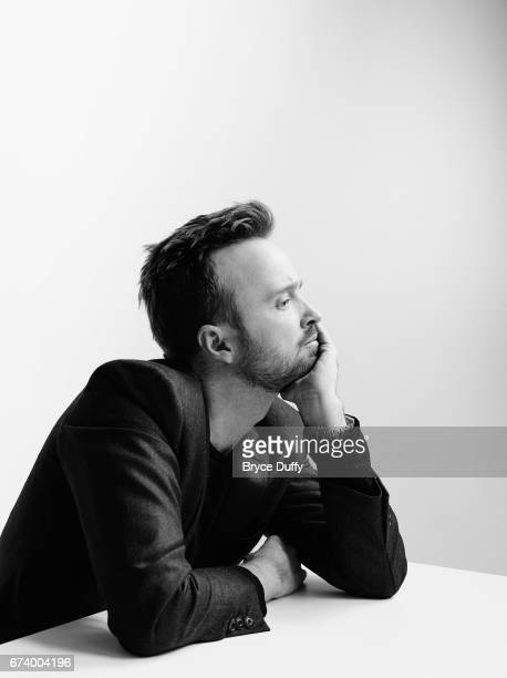 Actor Aaron Paul photographed for Variety on April 10 in Los Angeles, California.