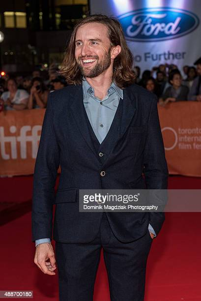Actor Aaron Poole attends the 'Forsaken' premiere during the 2015 Toronto International Film Festival at Roy Thomson Hall on September 16 2015 in...