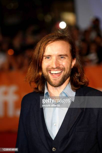 Actor Aaron Poole attends the premiere of Forsaken during the 40th Toronto International Film Festival TIFF at Roy Thomson Hall in Toronto Canada on...