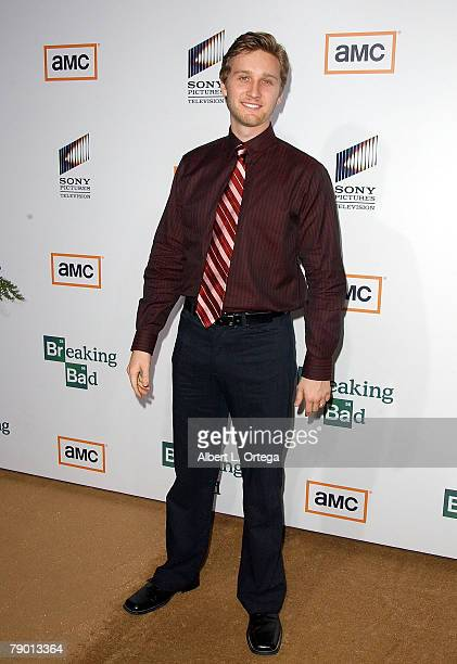 Actor Aaron Staton arrives at the Premiere Screening of AMC's new Sony Pictures' Television drama Breaking Bad held on January 15 2008 at The Cary...