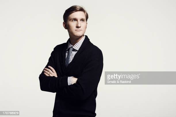 Actor Aaron Staton is photographed for Us Weekly on April 11 2013 in Los Angeles California