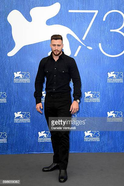 Actor Aaron Taylor Johnson attends a photocall for 'Nocturnal Animals' during the 73rd Venice Film Festival at Palazzo del Casino on September 2,...