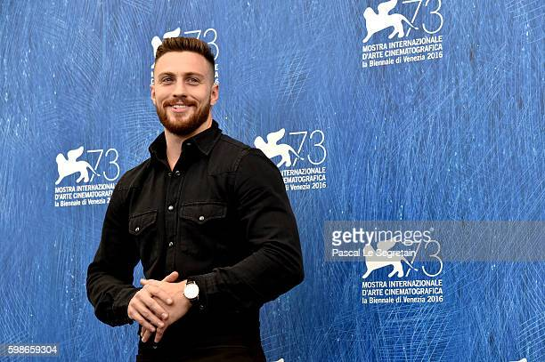 Actor Aaron Taylor Johnson attends a photocall for 'Nocturnal Animals' during the 73rd Venice Film Festival at Palazzo del Casino on September 2 2016...