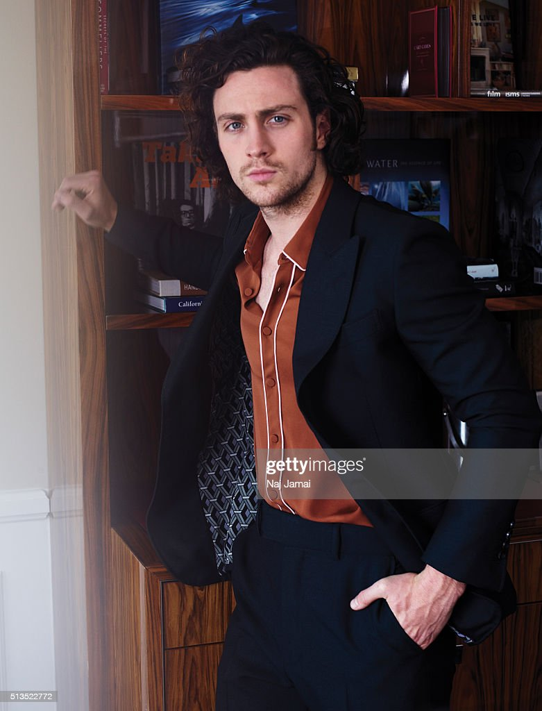 Aaron Taylor Johnson, L'Officiel Hommes Italia, July 1, 2015