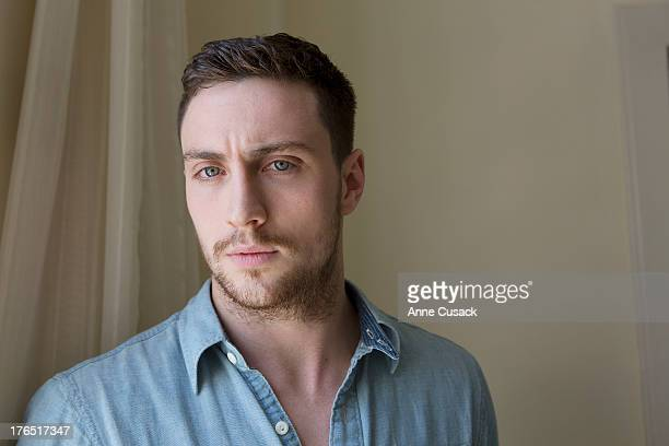 Actor Aaron Taylor Johnson is photographed for Los Angeles Times on August 6 2013 in West Hollywood California PUBLISHED IMAGE CREDIT MUST READ Anne...