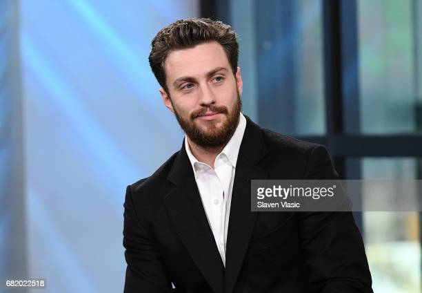 Actor Aaron Taylor Johnson visits Build Series to discuss his film ÒThe WallÓ at Build Studio on May 11 2017 in New York City
