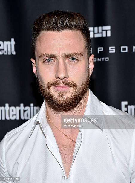 Actor Aaron TaylorJohnson attends Entertainment Weekly's Toronto Must List party at the Thompson Hotel on September 10 2016 in Toronto Canada