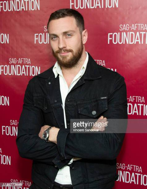 """Actor Aaron Taylor-Johnson attends SAG-AFTRA Foundation Conversations with """"A Million Little Pieces"""" at SAG-AFTRA Foundation Screening Room on..."""