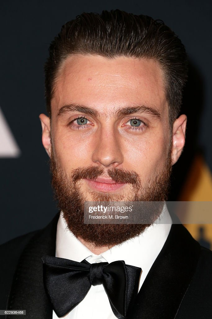 Actor Aaron Taylor-Johnson attends the Academy of Motion Picture Arts and Sciences' 8th annual Governors Awards at The Ray Dolby Ballroom at Hollywood & Highland Center on November 12, 2016 in Hollywood, California.