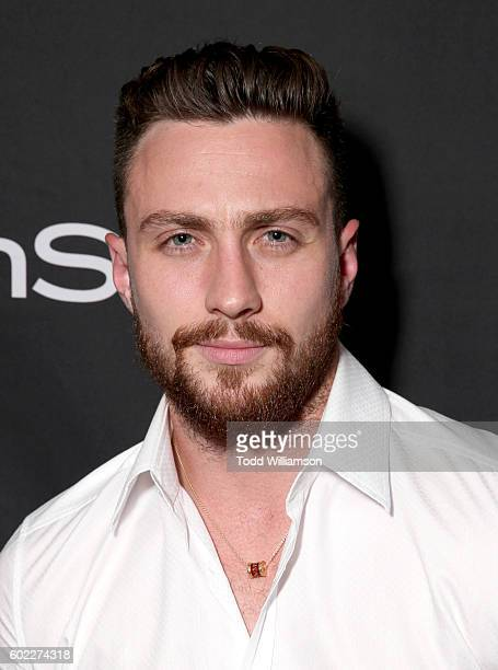 Actor Aaron TaylorJohnson attends the Hollywood Foreign Press Association and InStyle's annual celebration of the Toronto International Film Festival...