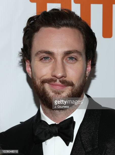 Actor Aaron TaylorJohnson attends the premiere of 'Outlaw King' at Roy Thomson Hall on September 6 2018 in Toronto Canada