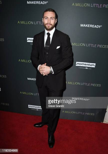 """Actor Aaron Taylor-Johnson attends the special screening of Momentum Pictures' """"A Million Little Pieces"""" at The London Hotel on December 04, 2019 in..."""