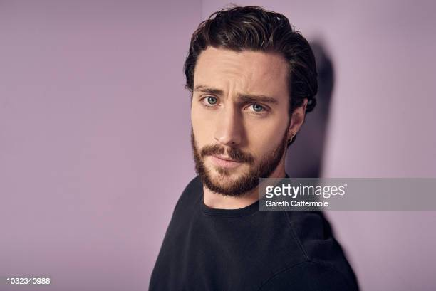 Actor Aaron TaylorJohnson from the film 'A Million Little Pieces' poses for a portrait during the 2018 Toronto International Film Festival at...