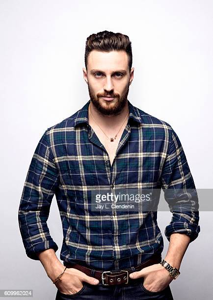 Actor Aaron TaylorJohnson from the film 'Nocturnal Animals' poses for a portraits at the Toronto International Film Festival for Los Angeles Times on...